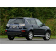 Бризковики NOVLINE Mitsubishi Outlander XL 2010 -  EXP.NLF.35.14.E13