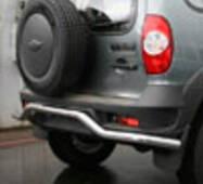 Кенгурятники / дуги NOVLINE Chevrolet Niva 2009  EXP.CN09.75.0852