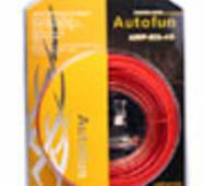 Набор для підключення підсилювача Autofun AMP - KIT - 4s
