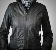 Жіноча куртка шкір.зам весна-осінь оптом
