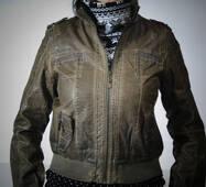 Куртка жіноча шкір.зам весна-осінь оптом