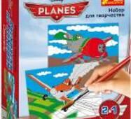 """Розмальовка по номерах за ліцензією """"Дісней"""": Літаки"""