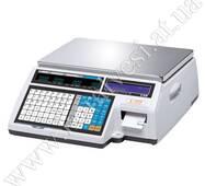 Весы с печатью этикеток CAS CL5000 B