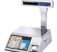 Весы с печатью ценников CAS CL5000 P