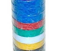 """Изолента """" PVC Rugby """" кольорова 50м"""