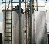 Зерносушилка шахтная прямоточная ЗШ-8000