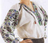 вишукана жіноча вишиванка ручної роботи
