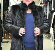 Куртка из меха кролика 0042