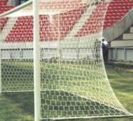 Ворота футбольные алюминиевые 7.32 х 2.44 м Ф=100 мм