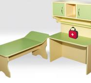 """Ігровий комплект дитячих меблів """"Лікарня"""""""