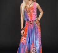 Платье шифоновое мод 303-3,размер 44,46,48