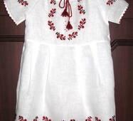 вишите платтячко на льоні для маленької дівчинки