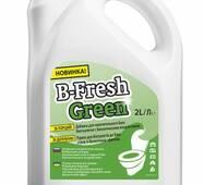 Аксесуари і витратні матеріали і  для біотуалетів. Avial Засіб д/біотуалетів B - Fresh Green, 2 л.