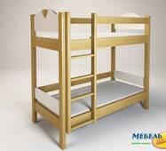Кровать 2-х ярусная ENR- Эльф (без матраса)