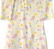Сорочка на пуговицах ¾ рукав интерлок В12-35.10