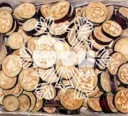 Заморожені овочі - баклажан кільце