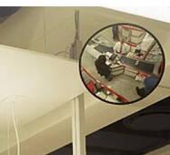 Зеркало сферическое круглое К400