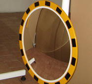Индустриальное зеркало безопасности INDU 600