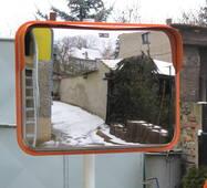 Стальное зеркало безопасности Steel 600*800