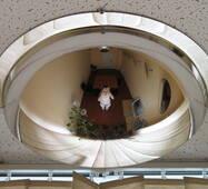 Купольное сферическое зеркало 600/180, 1/2