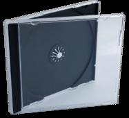 Пластикова коробка jewel на 1 сd-диск