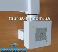 Білий кадратный ТЭН з маскуванням дроту   управління з кнопками - 2 режими. Потужність: 120-1000Вт.
