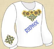 Заготовка дитячої сорочки БДД-8