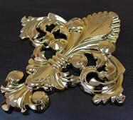 Декоративний золотий хрест