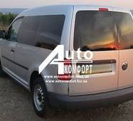 Заднее стекло (распашонка левая) без электрообогрева на автомобиль VW Caddy 04- (Фольксваген Кадди 04-)