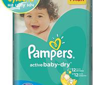 Подгузники Pampers Active Baby-Dry 4+ (9-16кг) 70шт