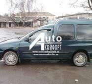 Передній салон, ліве вікно на автомобіль VW Caddy, Siat Inka (97-03) (Фольксваген Кадди, Сиат Инка 97-03)