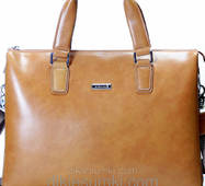 Мужская сумка портфель Kabinias бежева - песочная