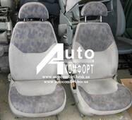 Сидіння автомобільні, пара, Volkswagen Sharan (Фольксваген Шаран) з підлокітником, на поворотних механізмах