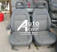 Сидіння автомобільні, пара, Ford Galaxy (Форд Галакси) з підлокітником, на поворотних механізмах