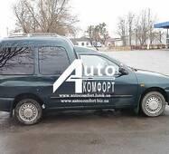 Передній салон, праве вікно на автомобіль VW Caddy, Siat Inka (97-03) (Фольксваген Кадди, Сиат Инка 97-03)