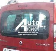 Заднє скло (ляда) з електрообігрівом на автомобіль Renault Kangoo 08 - (Рено Кангу)