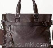 Мужской портфель  Dong Fangey коричневого цвета