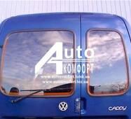 Заднє скло (сорочечка ліва) з електрообігрівом VW Caddy, Siat Inka (97-03) (Фольксваген Кадди, Сиат Инка 97-03)
