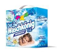 Дитячий безфосфатний універсальний пральний порошок Der Waschkonig Sensitive 22 прання 2 кг (Німеччина)