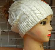 Жіноча тепла шапка