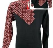 Комплект шикарных рубашек-вышиванок для взрослого и мальчика