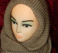 Жіночий шарф хомут