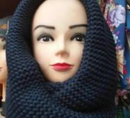 Жіночий шарф снуд