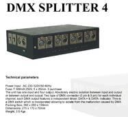 DMX SPLITTER 4
