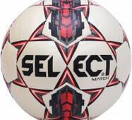 Мяч для футбола Select Match (новый дизайн)