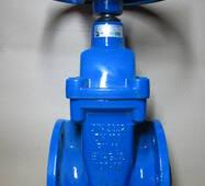 Засувка фланцева 2111 DN100 PN16 GGG40 чавунна з гумовим ущільненням клина JAFAR