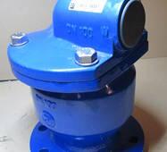 Повітряний вантуз 1-ступінчастий для води тип 7010 DN 80 чавунний фланцевий JAFAR