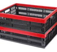 Ящик складний пластмасовий 480х350х126/60мм (А:180А)