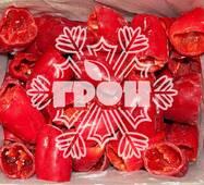 Замороженные овощи - перец красный целый