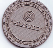Печатка кругла діаметром 40 мм, кліше